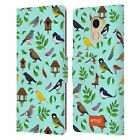 OFFICIAL emoji® BIRDS LEATHER BOOK WALLET CASE COVER FOR WILEYFOX & ESSENTIAL