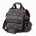 Nurse Mates Ultimate Nursing Medical Organizer Bag 4 Fun Prints! Galaxy,  Hope