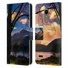 OFFICIAL HAROULITA PLACES 3 LEATHER BOOK WALLET CASE COVER FOR LG PHONES 1