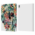 OFFICIAL RIZA PEKER SKULLS LEATHER BOOK WALLET CASE FOR APPLE iPAD