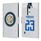 INTER MILAN 2018/19 PLAYERS AWAY KIT GROUP 2 LEATHER BOOK CASE FOR LG PHONES 2