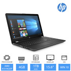 "HP 15-bw029na 15.6"" Full HD Laptop AMD A10-9620P, 4GB RAM, 1TB HDD, Windows 10"