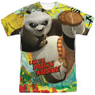 Authentic Kung Fu Panda Po I am the Dragon Warrior Sublimation Front T-shirt top