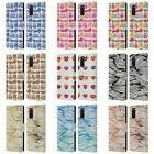 CAT COQUILLETTE PATTERNS 2 LEATHER BOOK WALLET CASE COVER FOR SAMSUNG PHONES 1
