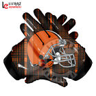 NFL AMERICAN FOOTBALL GLOVES CLEVELAND BROWNS TEAM WITH GLUE GRIP BY LISAAZ on eBay