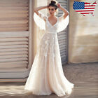 Womens Lace Backless Long Maxi Dress Gown Party Cocktail Bridesmaid Dresses Lot