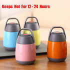Travel Thermos Hot Food Flask Lunch Vacuum Storage Warm Soup Heat Kitchen 500ML  for sale  United Kingdom