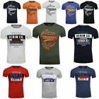 Tom Tailor Denim Herren T-Shirt Basic Angesagtem Statement Brust Print NEU