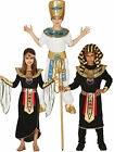 Kids Egyptian Pharaoh Costume Boys Girls King Queen Childrens Fancy Dress Outfit