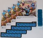 4 X SAINT WALKER BRO DEE WALKER Of ASTONIA 65/142 War Of Light Dice Masters DC