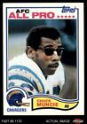 1982 Topps #236 Chuck Muncie Chargers NM/MT $2.7 USD on eBay