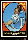 1967 Topps #123 Lance Alworth Chargers GOOD $11.0 USD on eBay