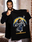 Chargers Man T-Shirt Funny NFL Official Team Football Men Women Gift M-3XL on eBay