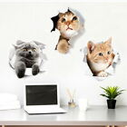 3D Dog Cat Wall Stickers Self Adhesive Wall Decal Sticker Home Mural Art Decor