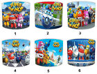 Children`s Super Wings Lampshades, Ideal To Match Super Wings Duvets & Covers.