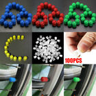 100pcs Plastic Auto Car Bike Motorcycle Truck wheel Tire Valve Stem Caps $1.72 USD on eBay
