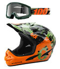 661 CAMO Comp Full Face Gravity Helmet & 100% Huntsitan Camo Goggles Combo Kit