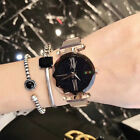Waterproof Starry Sky Watch Stainless Steel Strap Buckle Women 4 Colors H4M7N image