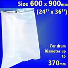 Dust Extractor Polythene Collection Bags 24x36 Charnwood Fox SIP Scheppach
