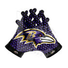 Baltimore Ravens NLF American Football Gloves WITH GLUE GRIP BY LISAAZ.