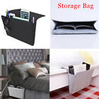 Felt Bedside Caddy Pocket Bed Organizer Storage Phone Book Remote Holder Case