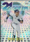 Five Derk Jeter Cards (3Topps + 2 Sports Illustrated