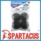 Pack of 4 Spartacus Blue Strimmer Spool & Single 1.5mm x 7m Line for Many Brands
