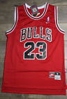 Chicago Bulls Michael Jordan Red Basketball Jersey Throwback Swingman #23