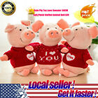 Cute Pig Toy Love Sweater 30CM Soft Plush Stuffed Animal Lovely Doll Gift CH