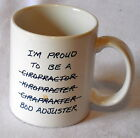 Pats Dritters humorous funny Coffee Mug Im Proud to be a Bod Adjuster S30