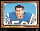 1966 Topps #118 Chuck Allen Chargers Washington 7 - NM $38.5 USD on eBay
