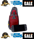Nintendo Switch Backpack Case Carrying Protective Travel Sling Pouch Bag Premium