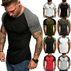 Men Fit Short Sleeve Slim Gym Muscle Bodybuilding T shirt Tee Shirt Tops Casual