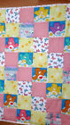 "One Hand tied baby planket size 37"" x 48"" love bears"