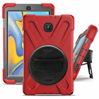 Hybrid Shockproof Hand Strap Cover Case For Samsung Galaxy Tab A 8.0 T380 T387