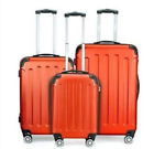 3Pcs Luggage Travel Set Bag w/TSA Lock ABS Trolley Spinner Carry On Suitcase M8