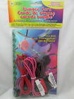Pepperell Kids Crafts Bungee Cord Kit / Project Book - Red / Black /  Pink