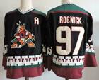 Phoenix Coyotes 97 Jeremy Roenick Retro Throwback MENS Hockey Jersey Embroidery