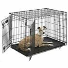 Dog Crate | iCrate Single Door & Double Door Folding Metal Dog Crates | Fully