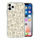 Retro Vintage Print TPU Back Case Cover For Mobile Phone - S10225