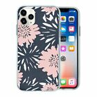 Silicone Phone Case Back Cover Pretty Flower Pattern - S10160