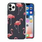 Silicone Phone Case Back Cover Flamingo Bird Pattern - S10036