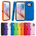 Protective Hard Case Cover Skin  For Samsung Galaxy S6 Hybrid Rubber Shock Proof