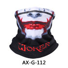 US Neck Gaiter Half Face Mask Breathable Skull Windproof Bike Motorcycle Racing