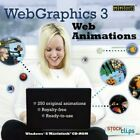 Web Graphics Clips Animations & More PC Windows XP Vista 7 8 10 Sealed New