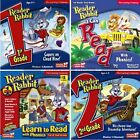 Reader Rabbit 1st 2nd Grade Edutainment PC Windows XP Vista 7 8 10 Sealed New