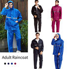 Adults Womens Mens Waterproof   Suit Jacket & Trousers Set  Coat