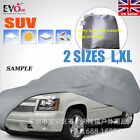 SUV Full Car Cover Dust proof and Dust proof Vehicle Clothing Silver Vehicle