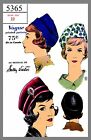 Vintage Vogue Designer Sally Victor Hat Fabric material sewing pattern # 5365