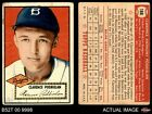 1952 Topps #188 Clarence 'Bud' Podbielan Cream Back Dodgers GOOD